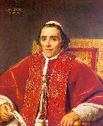 Jacques-Louis  David Portrait of Pope Pius VII_2 oil painting artist