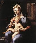 Jakob Alt Madonna and Child sgw oil