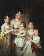 James Peale Madame Dubocq and her Children oil painting picture wholesale