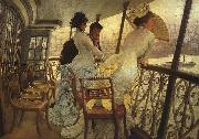 James Tissot The Gallery of HMS Calcutta oil painting artist
