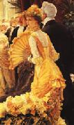 James Tissot The Ball oil painting picture wholesale