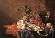 Jan Davidsz. de Heem Fruits and Pieces of Sea oil painting artist