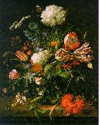 Jan Davidz de Heem Vase of Flowers 001 oil painting picture wholesale