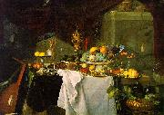 Jan Davidz de Heem A Dessert oil painting picture wholesale