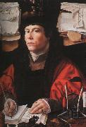 Jan Gossaert Mabuse Portrait of a Merchant oil painting picture wholesale