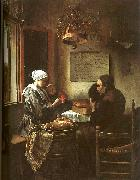 Jan Steen Grace Before a Meal oil painting artist
