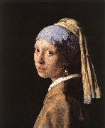 Jan Vermeer Girl with a Pearl Earring oil painting picture wholesale