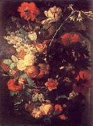 Jan van Huysum Vase of Flowers on a Socle oil painting picture wholesale