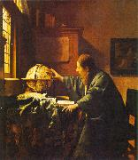 JanVermeer The Astronomer oil painting artist