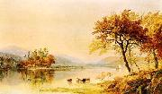Jasper Cropsey River Isle oil painting picture wholesale