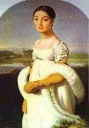 Jean Auguste Dominique Ingres Portrait of Mademoiselle Riviere. oil painting picture wholesale
