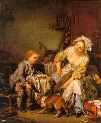 Jean Baptiste Greuze The Spoiled Child oil painting artist