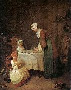 Jean Baptiste Simeon Chardin Grace before a Meal oil painting picture wholesale
