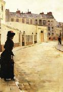 Jean Beraud Waiting oil painting picture wholesale