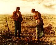 Jean Francois Millet L'Angelus oil painting reproduction