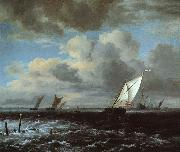 Jacob van Ruisdael Rough Sea oil painting picture wholesale