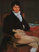 Jean-Auguste Dominique Ingres Portrait of M.Philibert Riviere oil painting picture wholesale