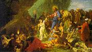 Jean-Baptiste Jouvenet The Resurrection of Lazarus oil painting picture wholesale