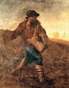 Jean-Franc Millet The sower oil painting picture wholesale