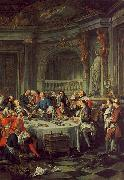 Jean-Francois De Troy The Oyster Lunch Germany oil painting reproduction