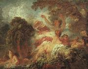 Jean-Honore Fragonard The Bathers oil painting artist