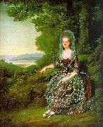 Jens Juel Madame de Pragins oil painting picture wholesale