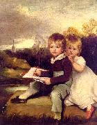 John Hoppner The Bowden Children oil painting picture wholesale