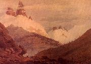John Robert Cozens Between Chamonix and Martigny oil painting picture wholesale