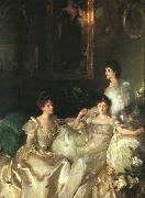 John Singer Sargent The Wyndham Sisters oil painting artist