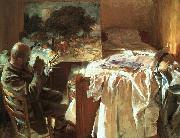John Singer Sargent An Artist in his Studio oil painting artist