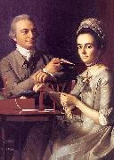 John Singleton Copley Mr Mrs Thomas Miffin oil painting picture wholesale