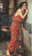 John William Waterhouse Thisbe oil painting picture wholesale