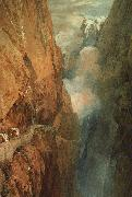 Joseph Mallord William Turner The Passage of the St.Gothard oil painting picture wholesale