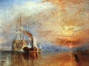Joseph Mallord William Turner The Fighting Temeraire oil painting picture wholesale