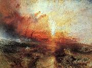 Joseph Mallord William Turner The Slave Ship oil painting picture wholesale