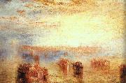 Joseph Mallord William Turner Approach to Venice oil painting picture wholesale