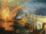 Joseph Mallord William Turner The Burning of the Houses of Parliament oil painting picture wholesale