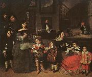 Juan Bautista Martinez del Mazo The Artist's Family Germany oil painting reproduction