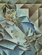 Juan Gris Portrait of Pablo Picasso oil painting artist