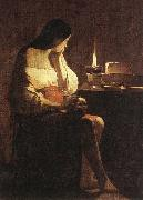 LA TOUR, Georges de Magdalen of Night Light f oil painting picture wholesale