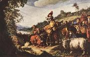 LASTMAN, Pieter Pietersz. Abraham's Journey to Canaan sg oil painting picture wholesale