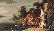 LASTMAN, Pieter Pietersz. The Angel and Tobias with the Fish g oil painting picture wholesale