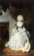 LAWRENCE, Sir Thomas Queen Charlotte sg oil painting reproduction
