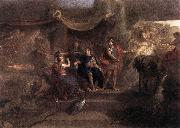 LE BRUN, Charles The Resolution of Louis XIV to Make War on the Dutch Republic g oil painting picture wholesale