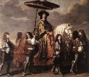 LE BRUN, Charles Chancellor Sguier at the Entry of Louis XIV into Paris in 1660 sg oil painting picture wholesale