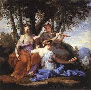 LE SUEUR, Eustache The Muses: Melpomene, Erato and Polymnia sf oil painting picture wholesale