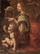 LEONARDO da Vinci Madonna Litta ey oil painting picture wholesale