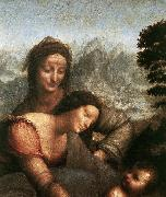 LEONARDO da Vinci Madonna with the Yarnwinder  tw oil painting picture wholesale