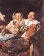 LEYSTER, Judith Carousing Couple oil painting picture wholesale