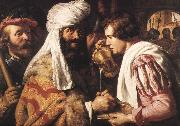LIEVENS, Jan Pilate Washing his Hands sg oil painting picture wholesale